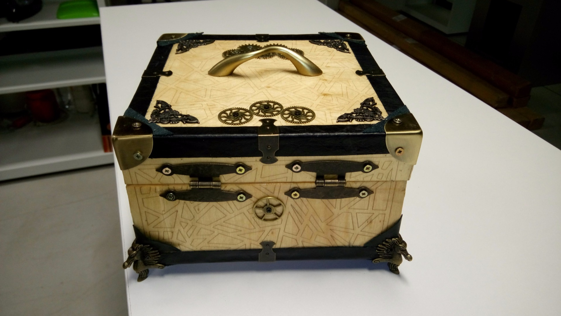 Picture of Steampunk Tool-Box for the Engineering Guy
