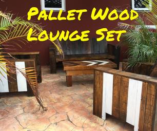 Pallet Wood Lounge Set