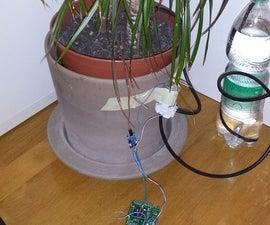 ESP8266 WiFi Plant Irrigation System