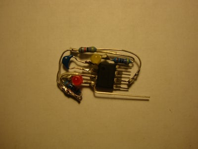 Finish Soldering 470 Ohm Resistor...