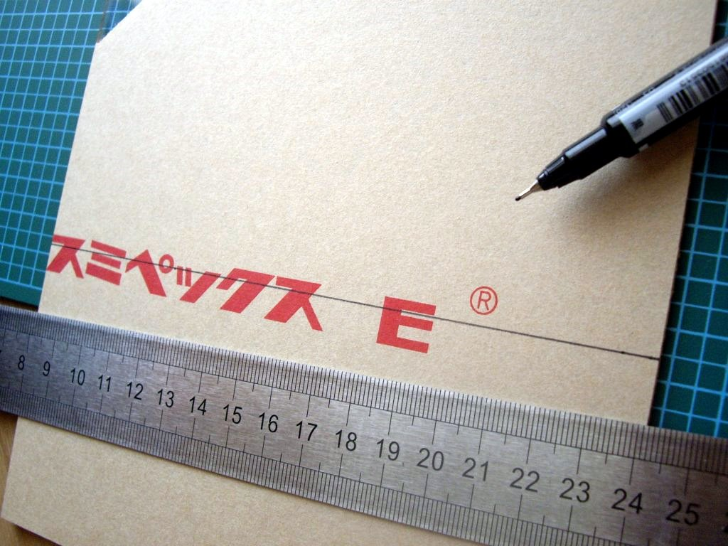 Picture of Cutting the Acrylic Sheet