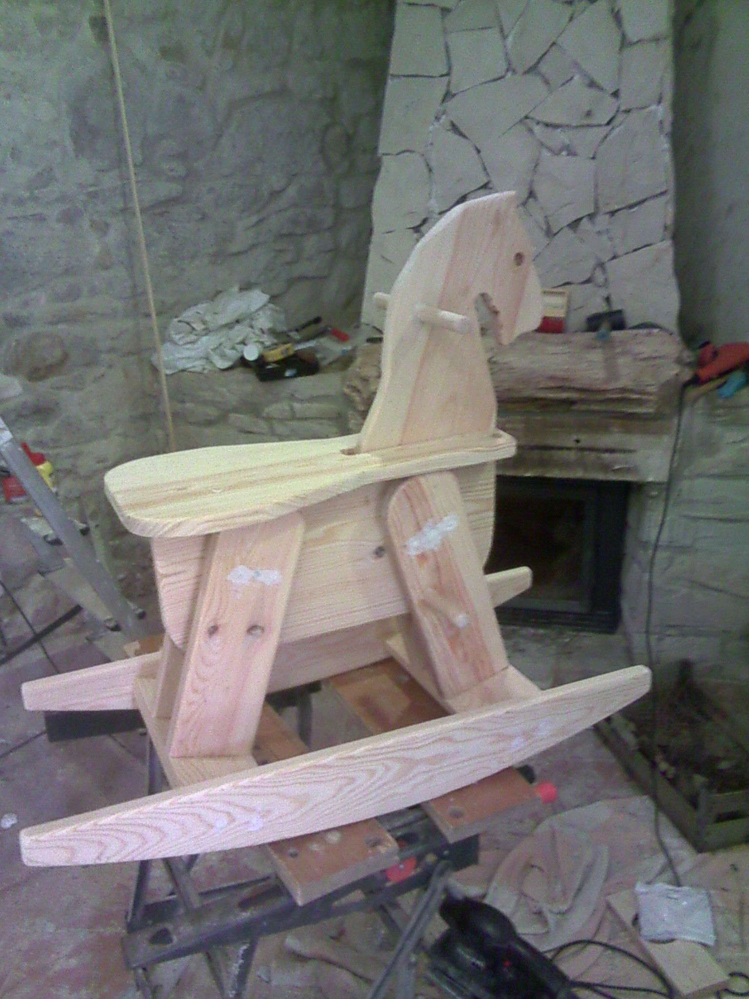 Picture of Cutting, Sanding, Assembling, Varnishing