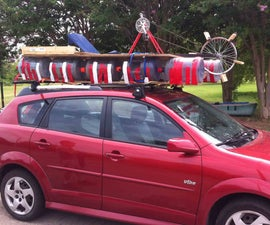 Paddleboat Using Recycled Materials