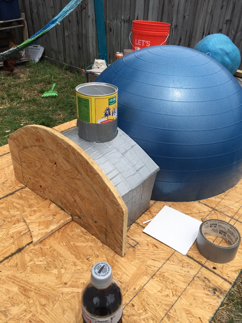 Picture of Top Dome Mold Build