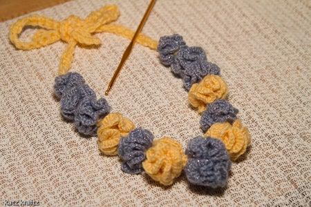 Hyperbolic Cashmere Necklace