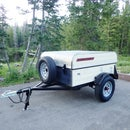 Retro-Style Camping Gear Trailer