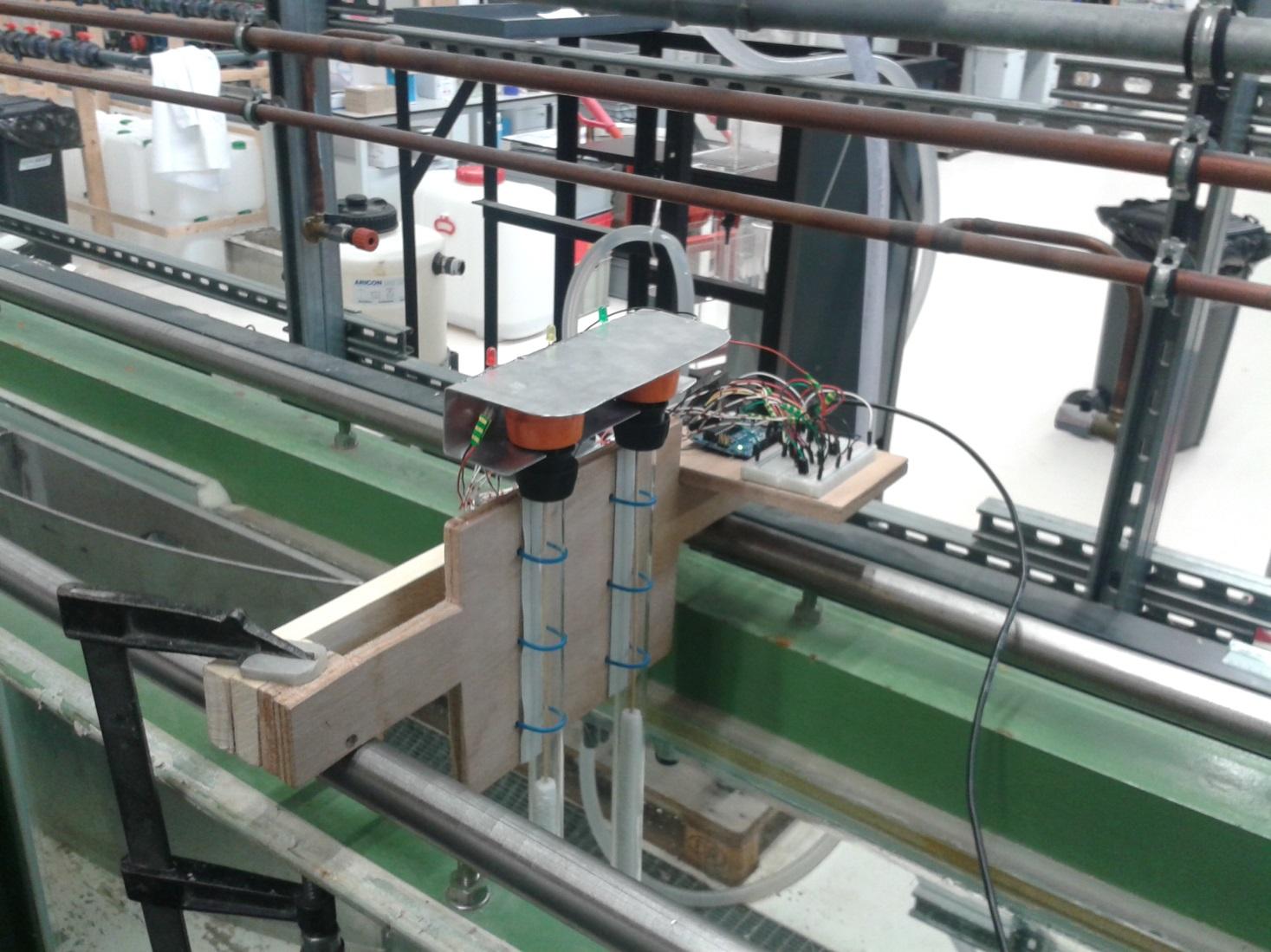 Picture of Pitot Tube Using Pressure Sensors