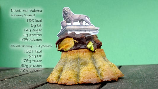Pistachio Cake (Battle of Waterloo Bicentenary) (GF)