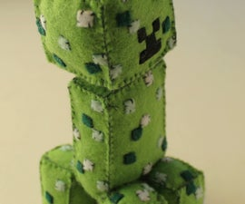 DIY Creeper Plush