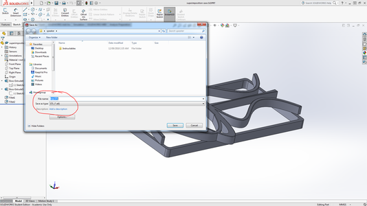 Transfering Files From Solidworks to Cura
