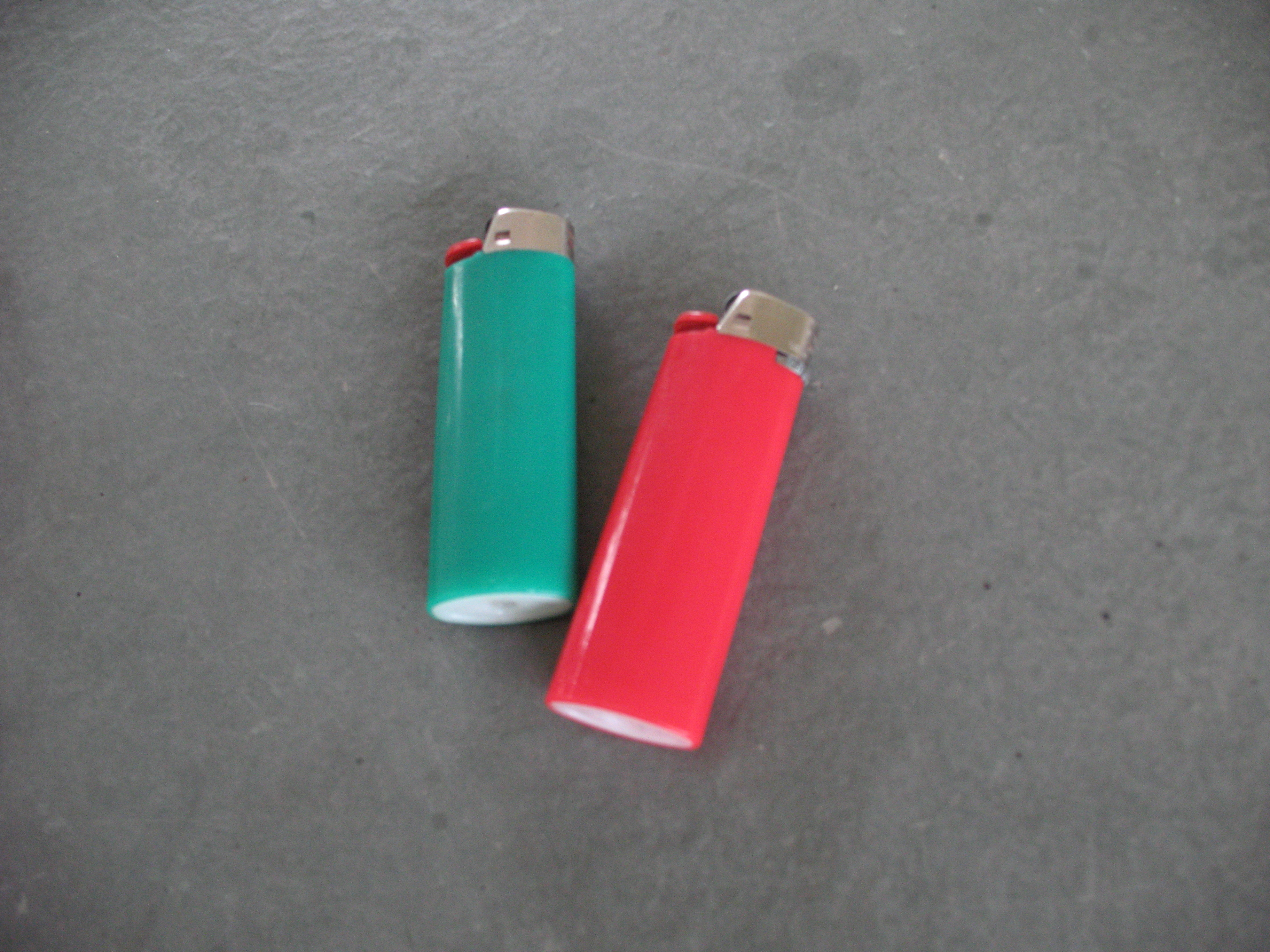 "Picture of How to Make a ""Secret Container"" Out of a LIGHTER"