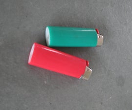 """How To Make A """"Secret Container"""" Out Of A LIGHTER"""
