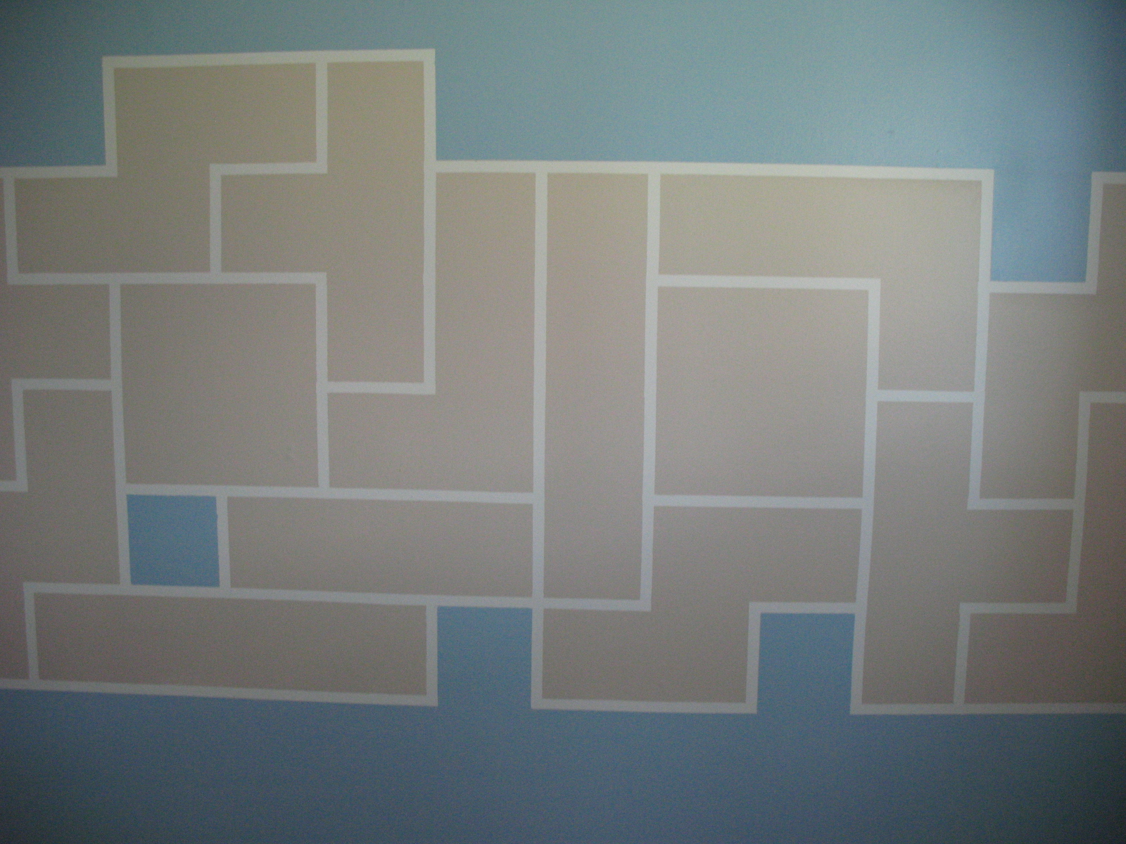 Picture of Tetris Paint Wall