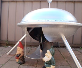 Flying Saucer pet house