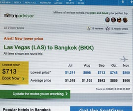 Get the cheapest flights to ANYWHERE!!