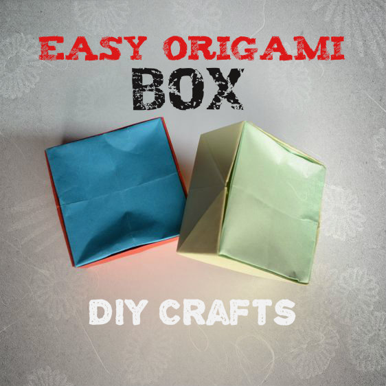 Picture of  DIY Crafts Tutorials - Easy Origami Box