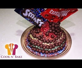 Smarties and Maltesers Cake Decoration - Cook n' Bake