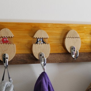 Hatching Egg Coat Hook