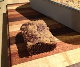Streusel Brownies | Easy and Delicious