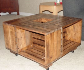 DIY : Crate Coffee Table