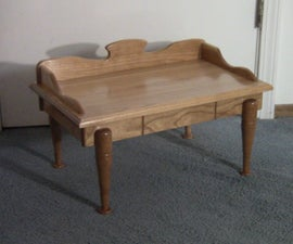 Miniature Cherry Wood Table
