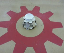 Laser Cut Coffee Cup / Flower Pot Holder.  I Made It at TechShop