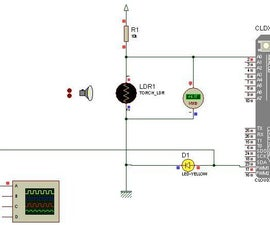 LED BRIGHTNESS CONTROL USING LDR WITH CLOUDX