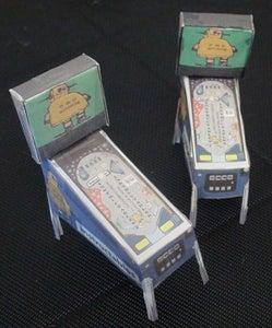 Papercraft Instructables Pinball Machine