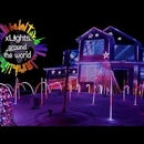 Christmas Light Show Synced to Music