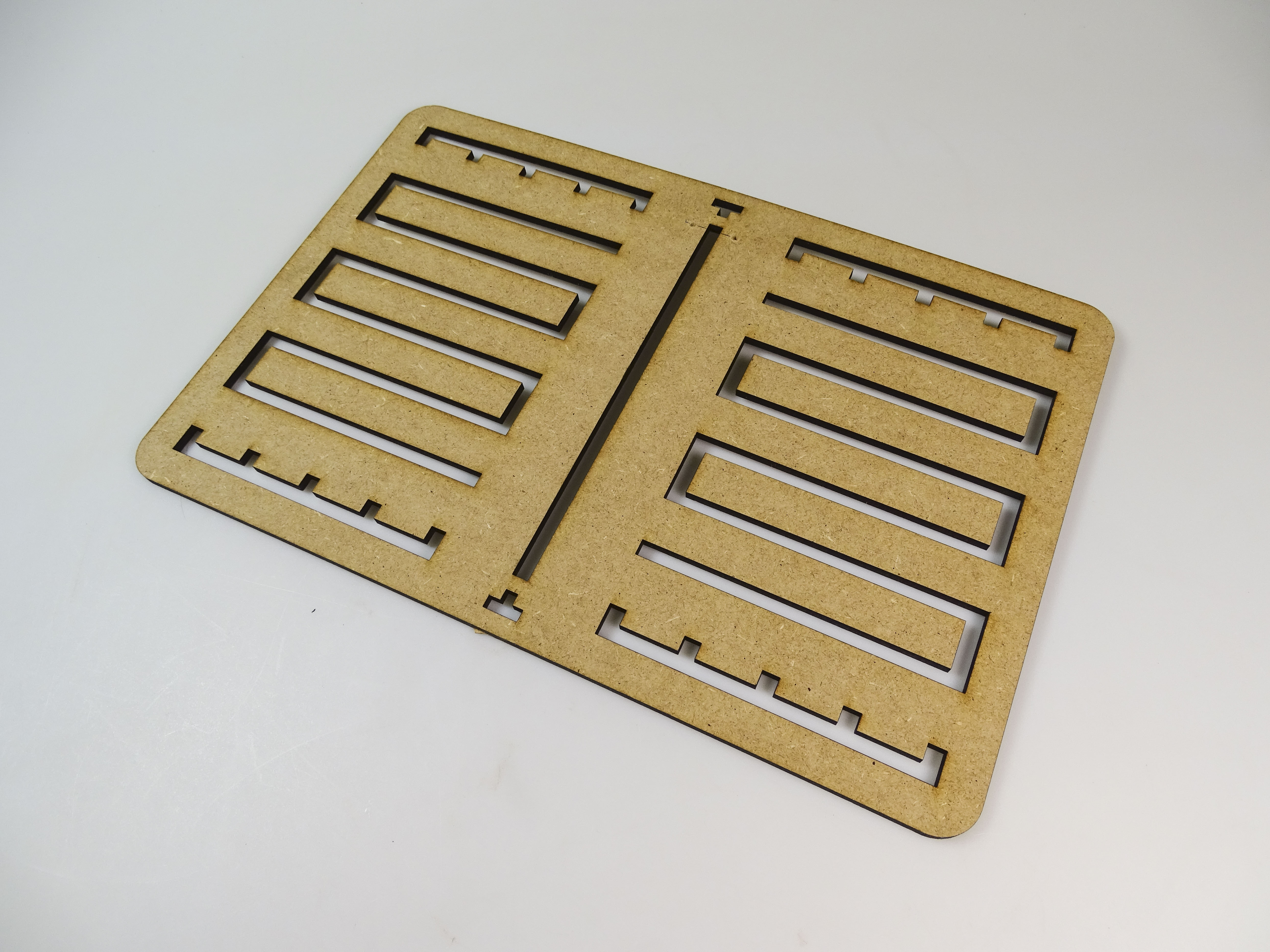 Picture of Lasercutting the Reading Plate