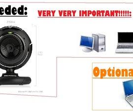 How to spy cam using Ustream.tv, a webcam, and a computer!