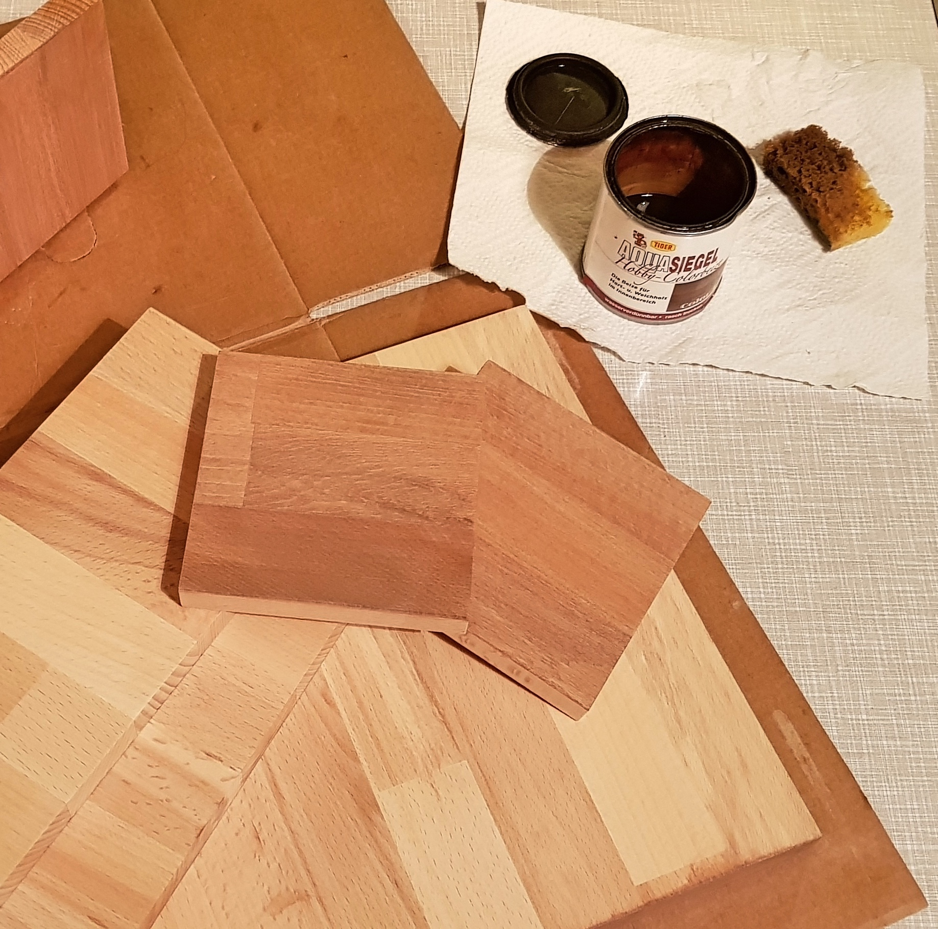 Picture of Further Preparation of the Wood