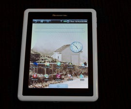 Hack your pandigital E-Reader into an Android tablet!