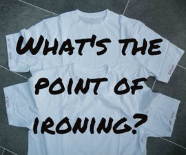 What Is the Point of Ironing Your Clothes?