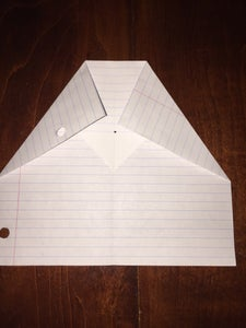 Fold Top Corners to Center