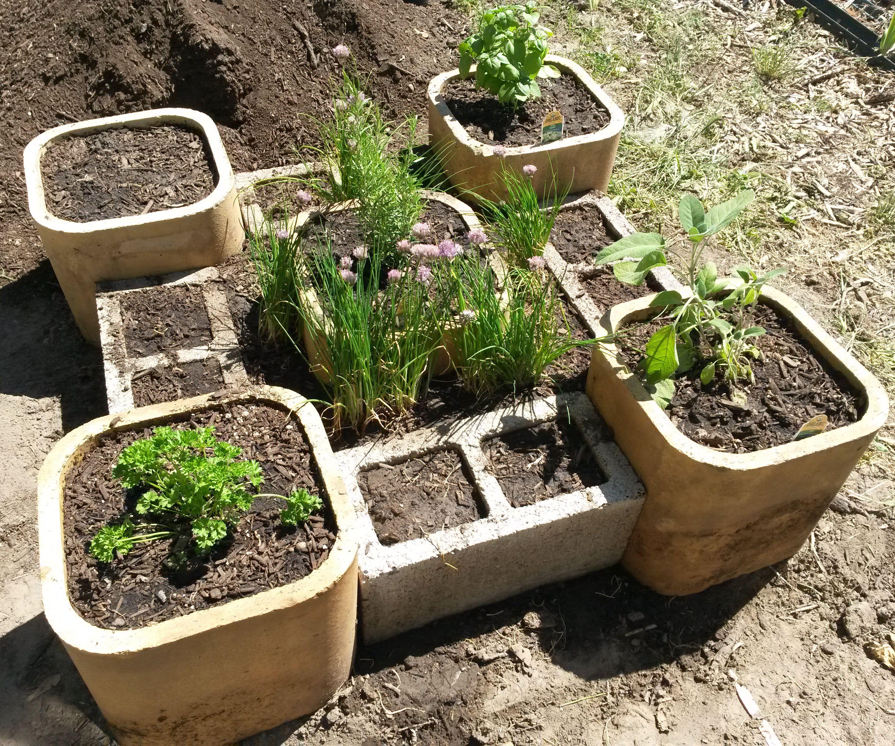 Raised Herb Garden 4 Steps Instructables