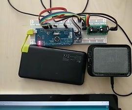 A Talking Sensor - Si7021 and Little Buddy Talker
