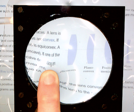 DIY Adjustable Focal Length Fluid Lens