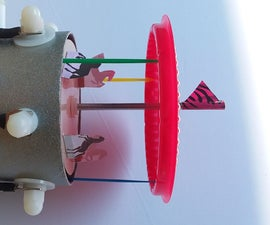 Electrostatic Carousel Made From Recyclables