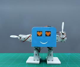 Make Smartphone Controlled Humanoid Bipedal Robot Using Evive- Arduino Based Embedded Platform