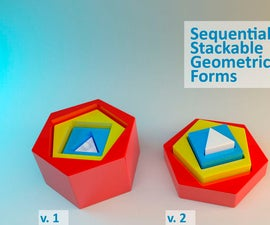Sequential Stackable Geometric Forms