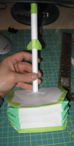 Paper Missile and Launcher