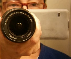 Attach Zoom Lens to a Smartphone
