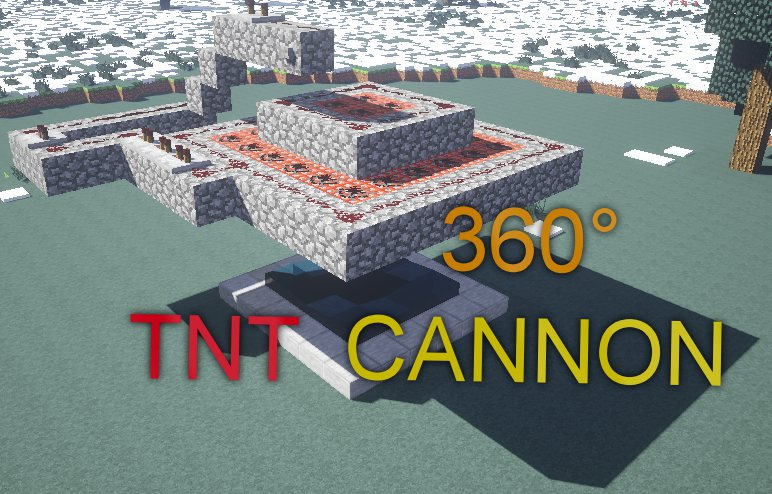 Picture of Minecraft: 360° TNT Cannon