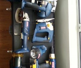 Cordless Power Tool Conversion 18VDC to 120/240VAC
