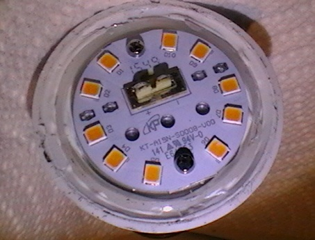 Picture of A Typical LED Light Bulb.  Why Dont They Last Longer?