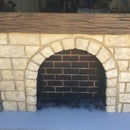 Stone Fireplace for Theatre Prop