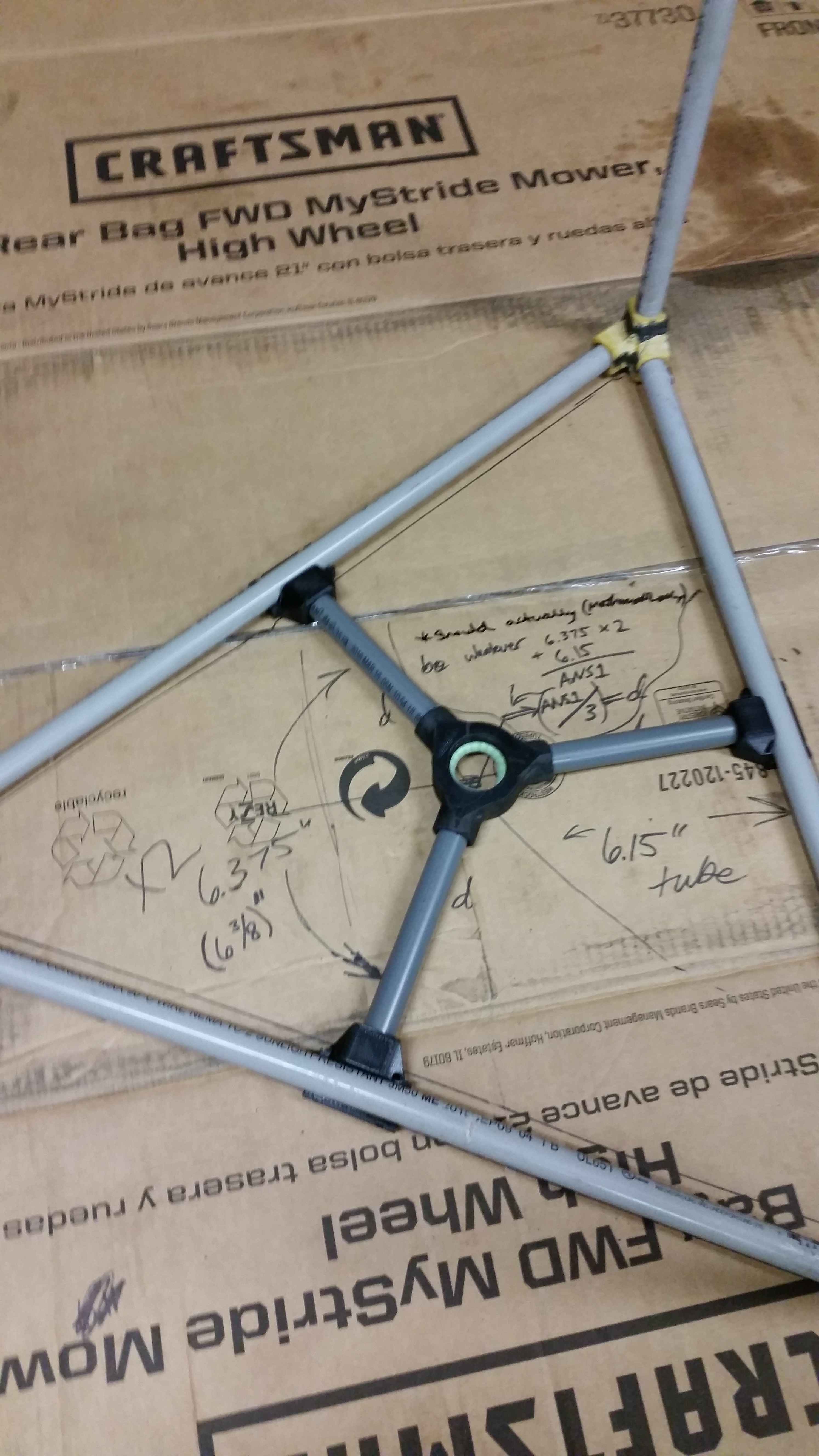 Picture of Creating the Frame, Part 2 - Creation and Mounting of the Tumbler Cage