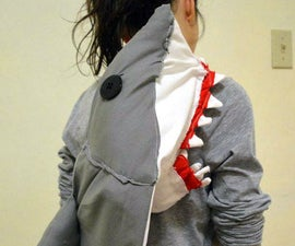 Shark Attack Messenger Bag