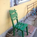 Funny Looking Green Chair